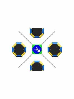 X4 Auto Bungee Trampoline
